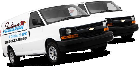 Bloomington Carpet Cleaning - IPC Van